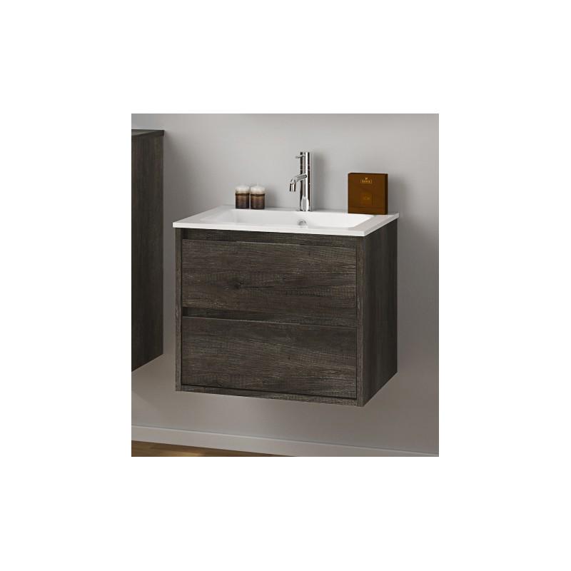 Mobili bagno moderni sospesi prezzi : Mobili bagno > mobile loto sospeso l60 cm rovere scuro